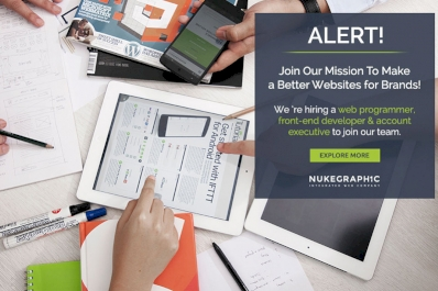 ALERT! Join Our Mission - To Make a Better Websites for Brands!