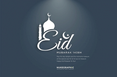 Happy Eid Mubarak 1438H