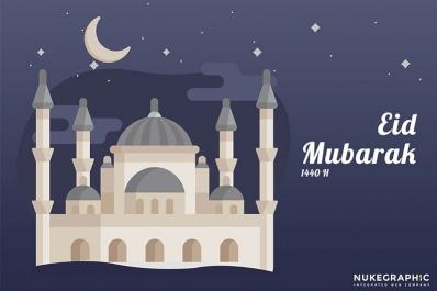 Happy Eid Mubarak 1440 H